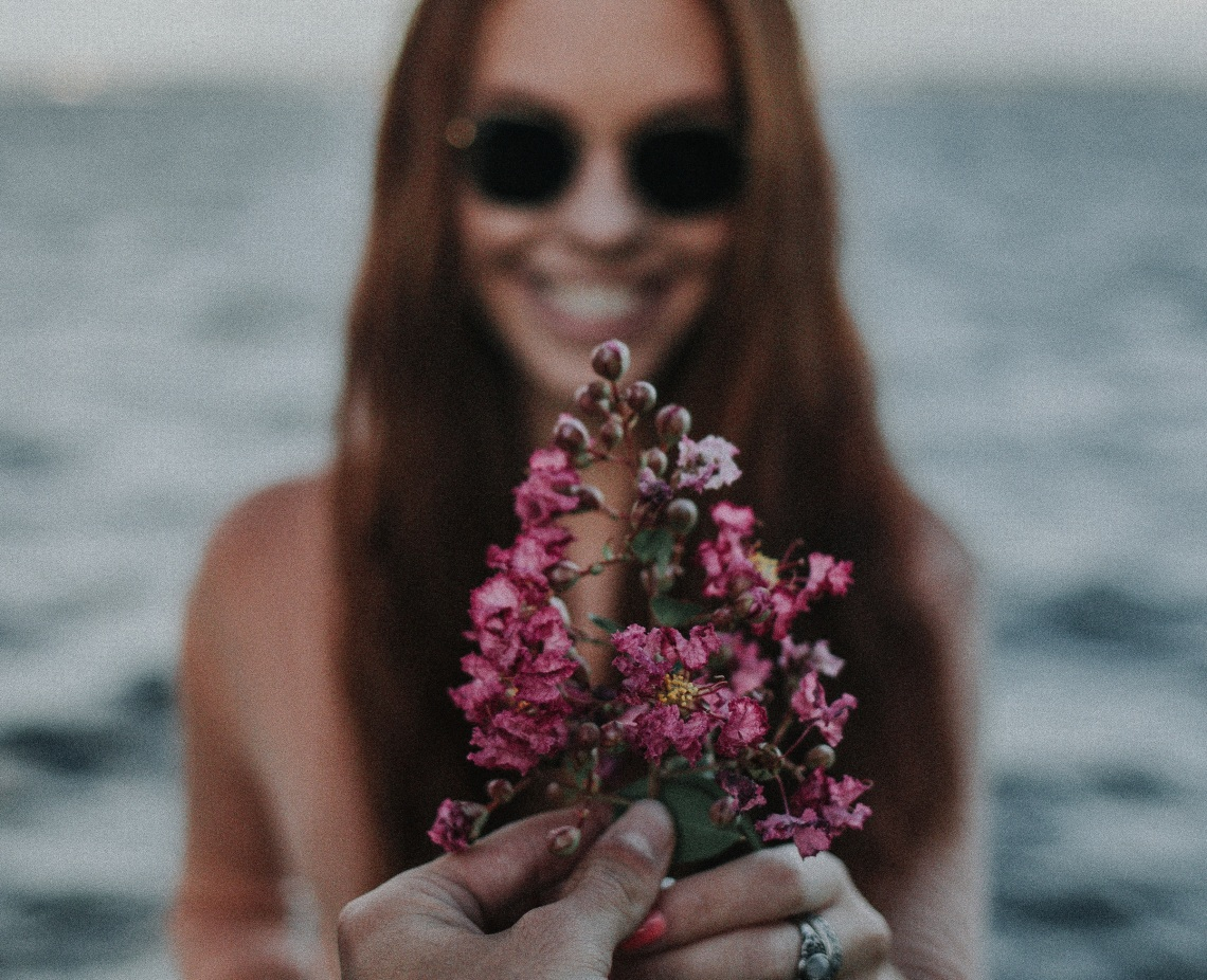 girl with flowers, stop doing these things
