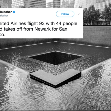 Ground zero and a tweet about 9/11