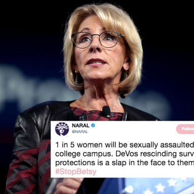 Betsy DeVos Passed A Rule That Will Protect College Students Accused Of Rape (But Not The Victims)