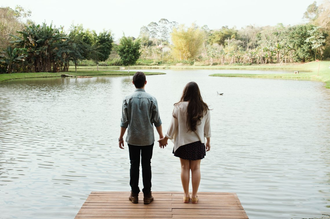 love, couple on a dock, zodiac compatibility