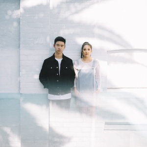couple standing side by side