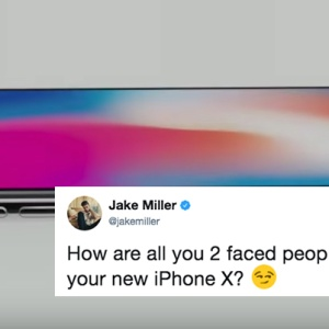 the new iPhone X announced by apple