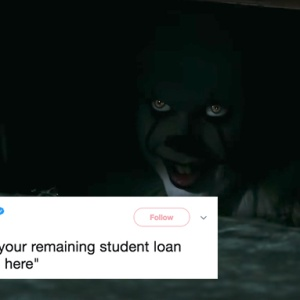 """Pennywise from Stephen King's """"IT"""""""