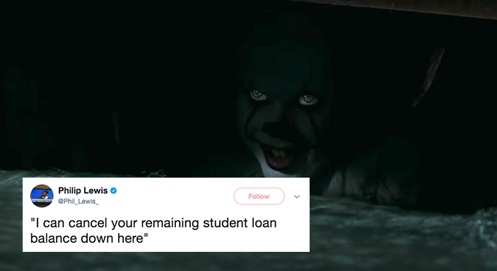Twitter Users Describe What 'It's Creepy Clown Would Have To Say To Get Them Into The Sewer And The Answers Are Hilariously Relatable