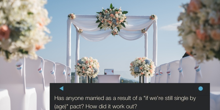A Reddit User Asked If Anyone Had Gone Through With A Marriage Pact, But They Weren't Expecting This Man's HeartbreakingResponse