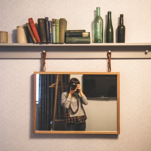 On Being The Girl Who Hates Looking In The Mirror