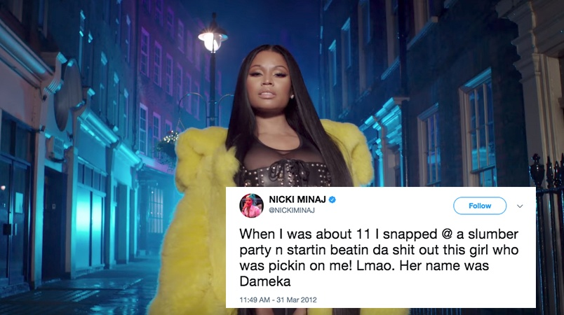 This Woman Claimed Nicki Minaj Stabbed Her With A Fork As A Kid And Now People Won't Stop Trolling Her OnTwitter