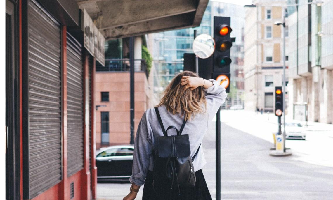 girl walking away, finding healing, it's okay to walk away, girl on the street