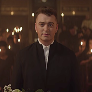 "Sam Smith in the music video for ""Lay Me Down"""