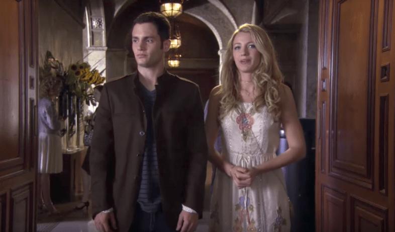 Serena and Dan in Gossip Girl