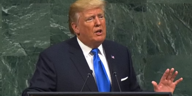 Trump Threatened To 'Totally Destroy' North Korea In His Embarrassing UNDebut