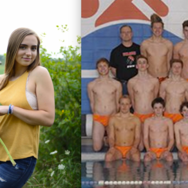 This Teen's Senior Photos Were 'Too Inappropriate' For Her School, But The Swim Team's Speedos Weren't
