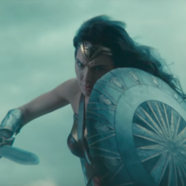 Gal Gidot As Wonder Woman In The Trailer