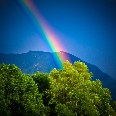 The Most Beautiful Rainbows Come After The Worst Storms