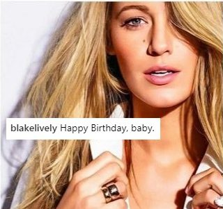 Blake Lively Just Shaded Husband Ryan Reynolds On Instagram For His Birthday And I Am Here ForIt