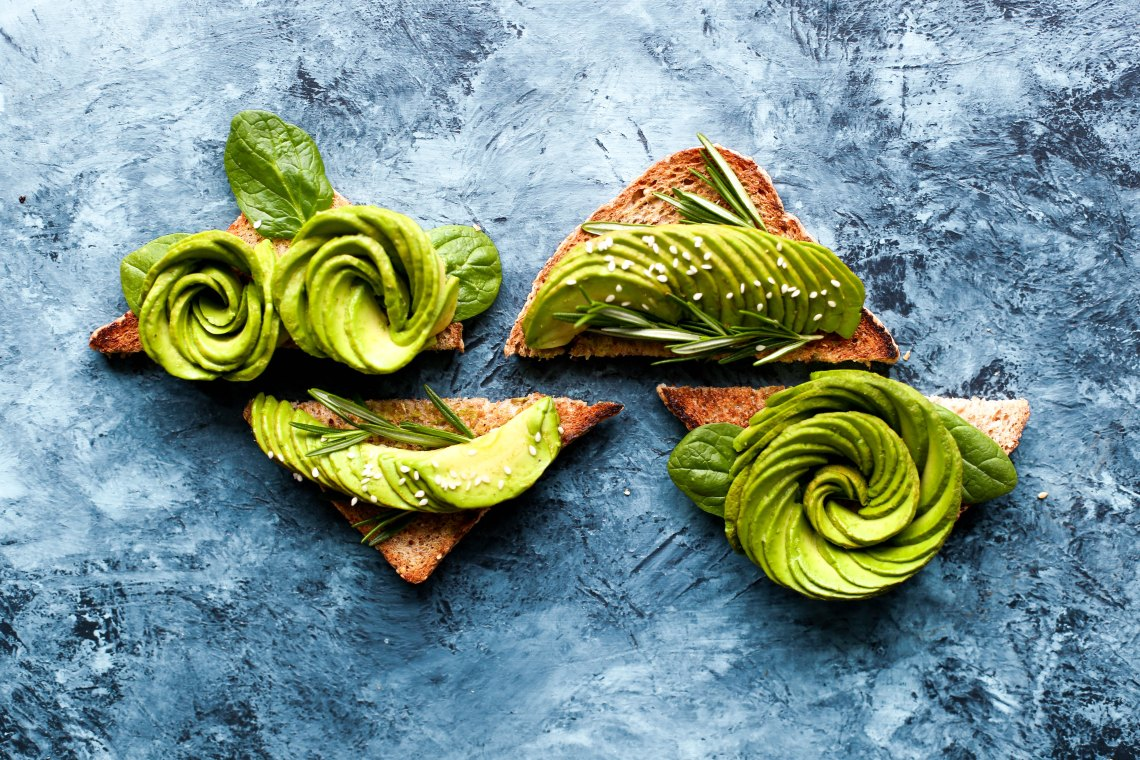 Avocado toast that probably isn't low-fat or diet
