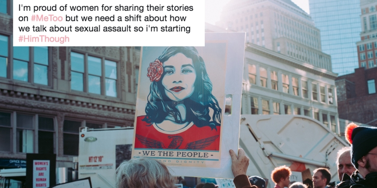 #HimThough And #IDidThat are replacing #MeToo — And Here's Why It's So Important