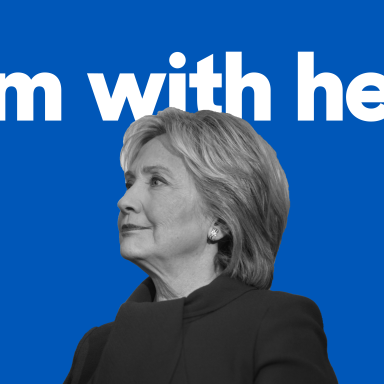 "Hillary Clinton's ""I'm with her."" campaign slogan"