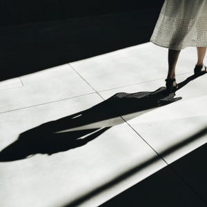 girl walking, shadow, me too, sexual abuse