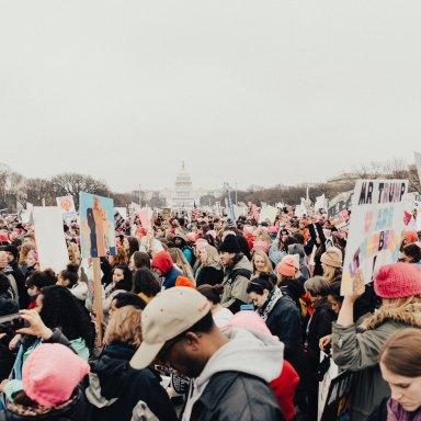 Protesting Trump in DC