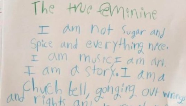This Third Grader's Poem Is Deeper Than Anything You'll Ever Write And People On Twitter Are Shook