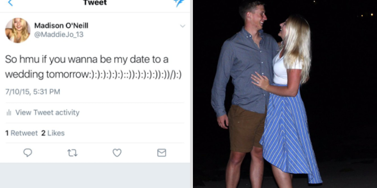 This Woman Asked Twitter To Help Her Find A Wedding Date, But She Didn't Realize He Would Be The Love Of HerLife
