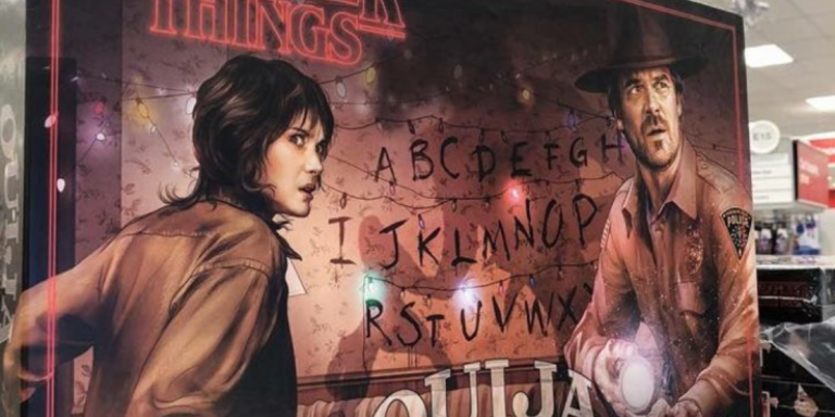 There's A Custom 'Stranger Things' Ouija Board You Can Get At Target This Halloween