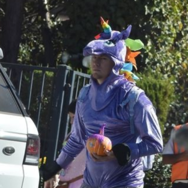 Why Am I So Damn Attracted To Channing Tatum In A Rainbow Unicorn Halloween Costume?