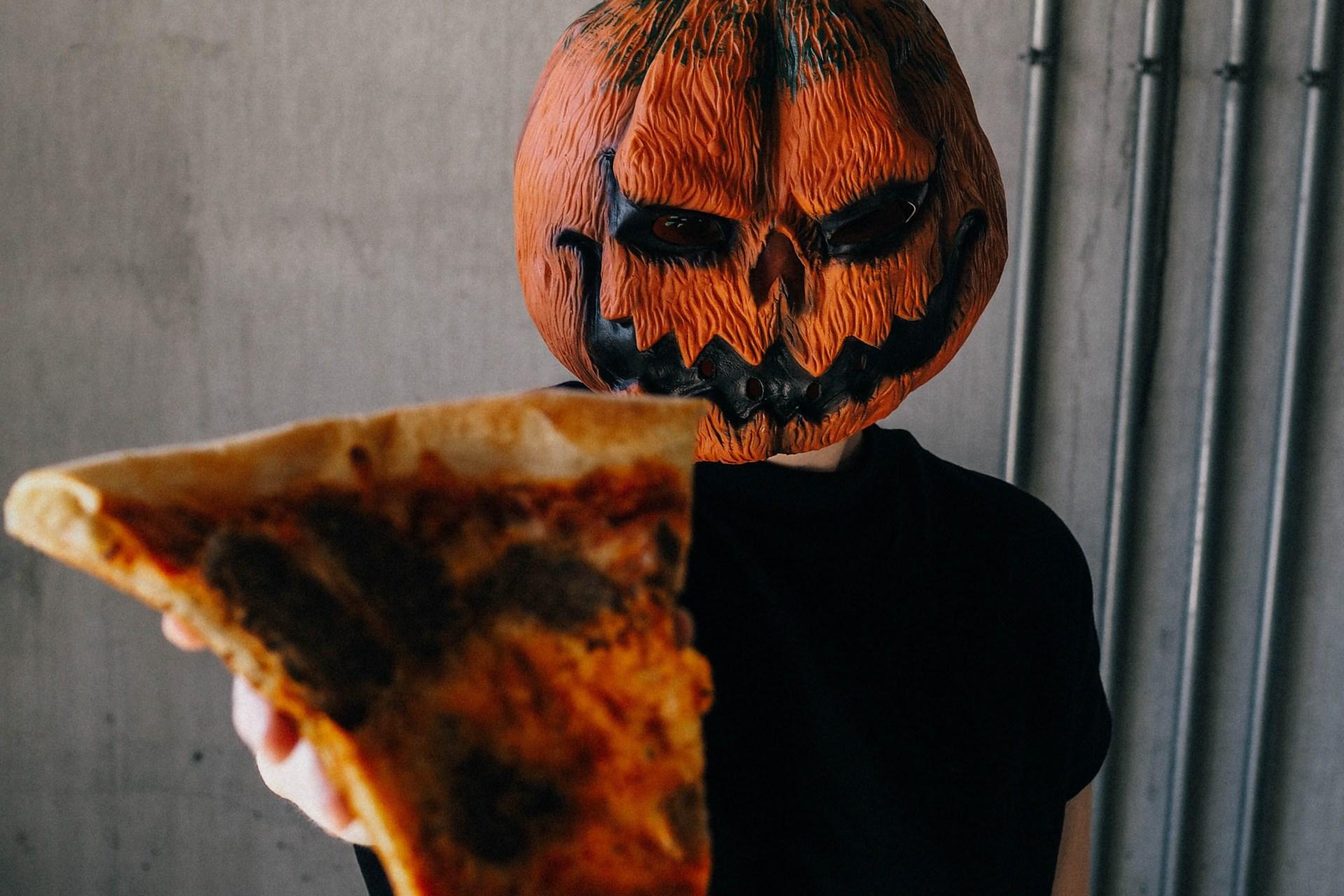A spooky pumpkin for Halloween