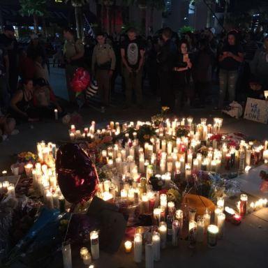 Vigil for Las Vegas Shooting