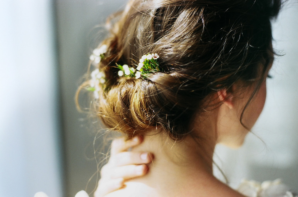 girl with updo, beautiful hair, don't compromise yourself, strong women
