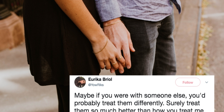 This Woman's Tweets About Not Being 'Enough' For The Person You're In Love With Will Break YourHeart