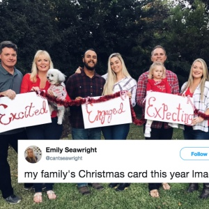 This Family's Hilarious Christmas Card Will Remind You How Single AF You Are