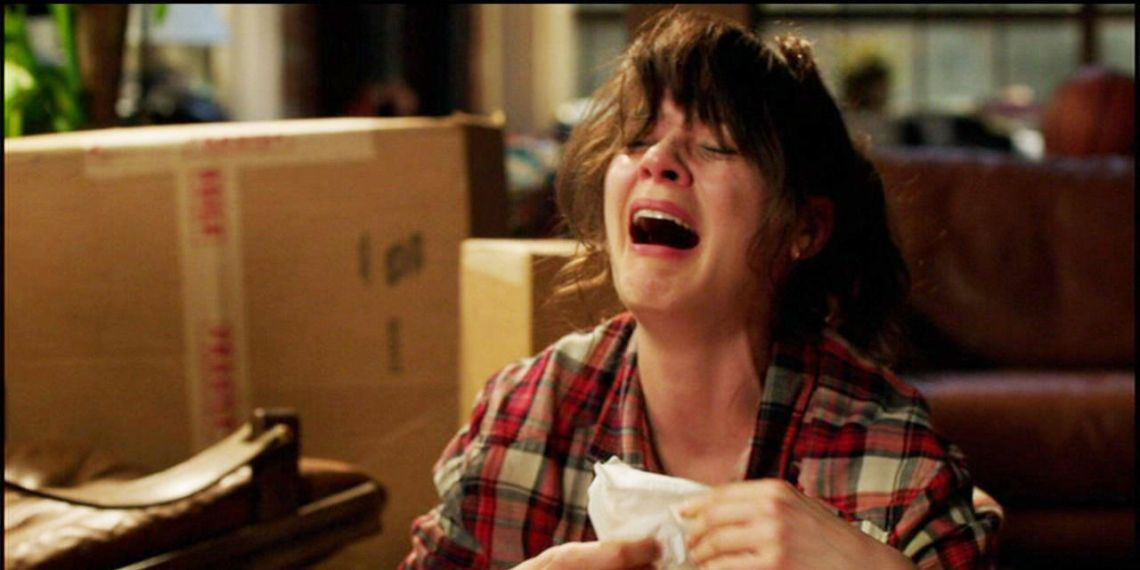 jessica day cry face