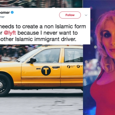 Uber Banned This Dumbass Woman For Her Super Racist Tweets About Muslim Drivers
