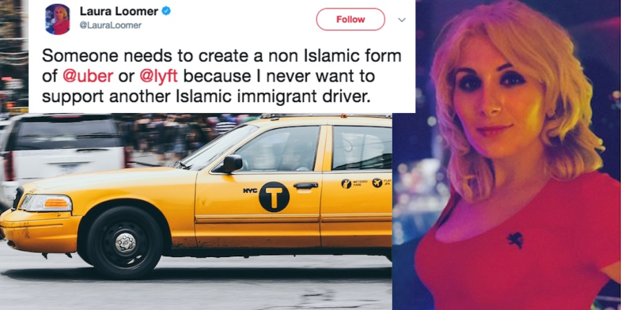 Uber Banned This Dumbass Woman For Her Super Racist Tweets About MuslimDrivers