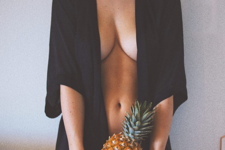Girl who just had the best sex ever