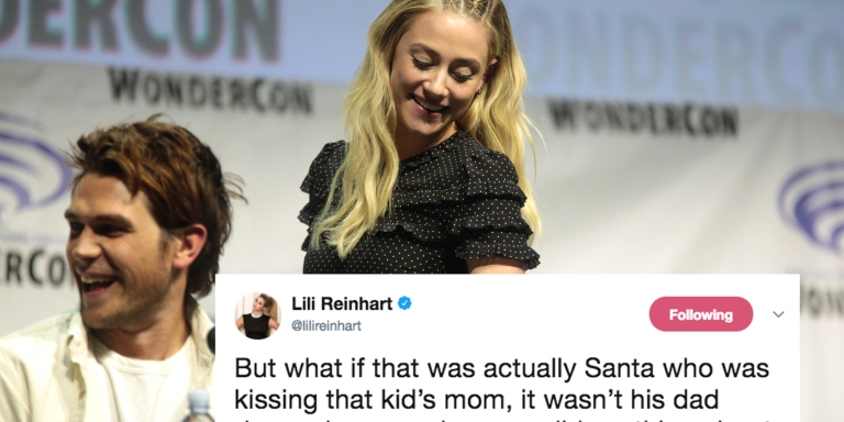'Riverdale' Actress's Dark Interpretation Of This Classic Christmas Song Will Change The Way You Listen To ItForever