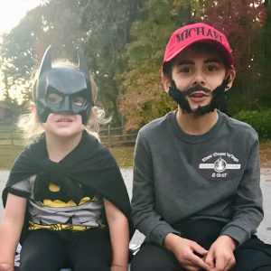 This Boy Surprised His Parents By Dressing As His 'Favorite Hero' For Halloween And It's Making Everyone Emotional