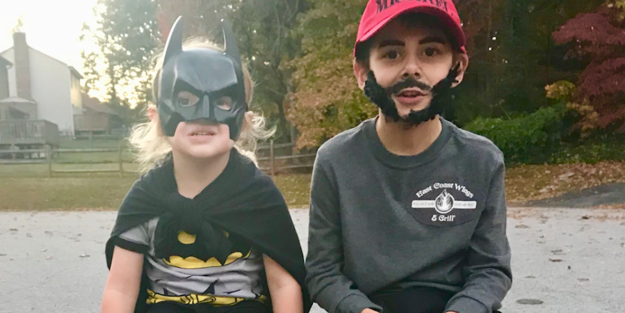 This Boy Surprised His Parents By Dressing As His 'Favorite Hero' For Halloween And It's Making EveryoneEmotional