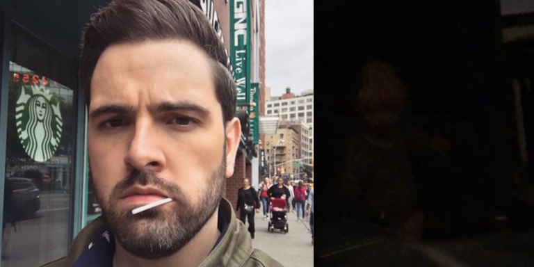 This Guy Has Been Tweeting About Being Haunted By A Creepy Ghost Child And He Took These Terrifying Photos As Proof