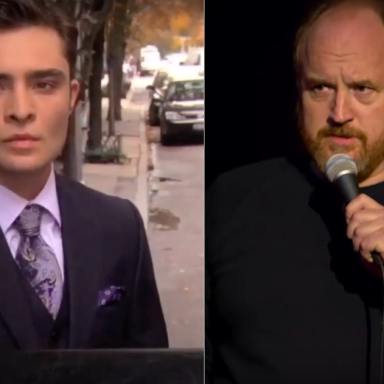 Ed Westwick and Louis C.K., both of who were accused of sexual assault and misconduct