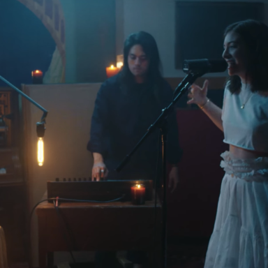 Lord in her VEVO music video for