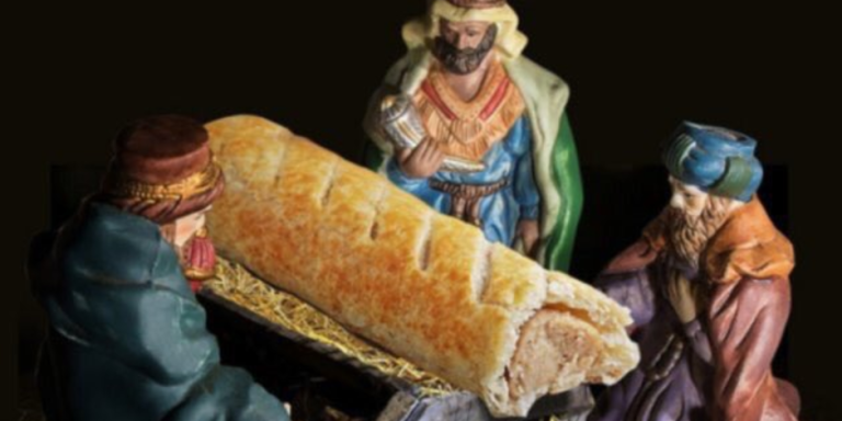 This Bakery Replaced Baby Jesus With A Sausage Roll In Its Nativity Scene And Now Christmas Is ApparentlyCancelled
