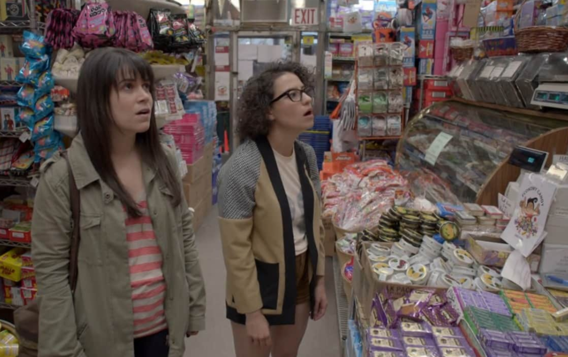 broad city grocery shopping