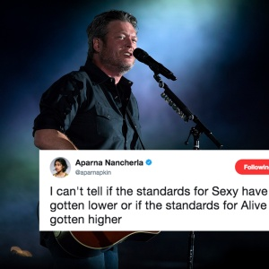 Blake Shelton Is People Magazine's 'Sexiest Man Alive' But No One On Twitter Is Having It