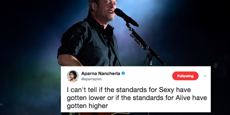 Blake Shelton Is People Magazine's 'Sexiest Man Alive' But No One On Twitter Is HavingIt