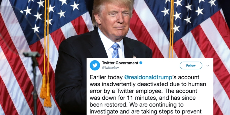 A Twitter Employee 'Accidentally' Deactivated Trump's Account And Everyone Thinks They Should Be PresidentNow