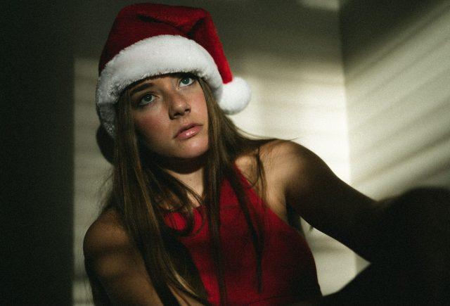 Girl who likes christmas less than she used to
