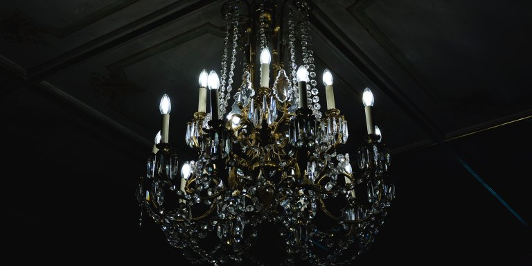 This Woman Is Actually Engaged To A Chandelier After She 'Fell In Love At FirstSight'